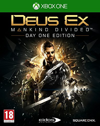 Square Enix Deus Ex: Mankind Divided Day One Edition, Xbox One Básica + DLC Xbox One vídeo – Juego…