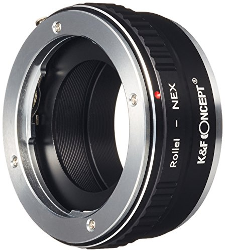 K&F Concept Adapter for Rollei QBM Mount Lens to Sony E Mount NEX a5000 A7II,A7R