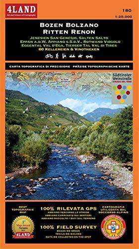 Bozen Bolzano - Ritten Renon. Jenesien San Genesio, Salten Salto, Eppan A.D.W. Appiano S.S.D.V., Rotwand Virgolo, Eggental Vel D'Ega, Tierser Tal Val di Tires.... Ediz. multilingue