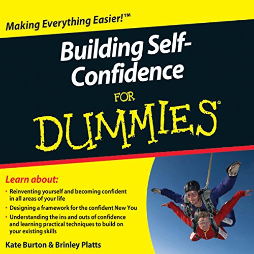 Building Self-Confidence For Dummies Audiobook audiobook cover art