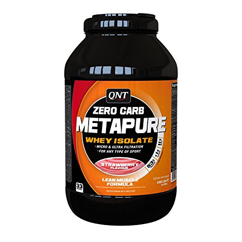 QNT Metapure Zero Carb Whey Isolate, Sabor Vanilla - 2000 gr ⭐