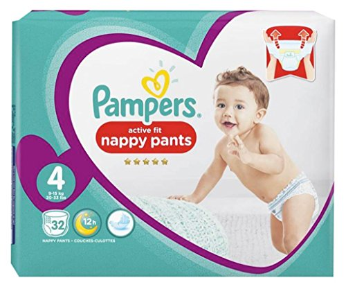 Pampers Active Fit Pampers Active Fit Windeln Hosen Größe 4 GA © Ant (9