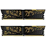 TEAMGROUP T-Force Vulcan TUF DDR4 Gaming Alliance 16GB (2x8GB) 3000MHz (PC4-24000) CL16 Desktop Memory Module ram - TLTYD416G3000HC16CDC01