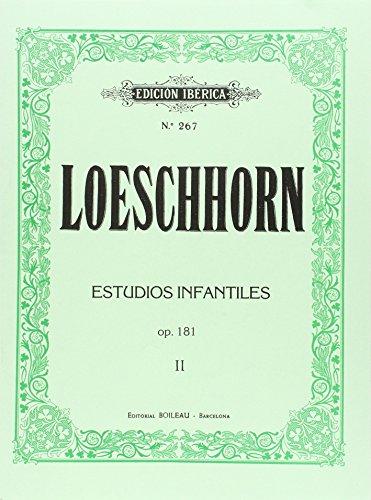 LOESCHHORN - Estudios para niños Op.181 Vol.2: nº 21 al 40 para Piano