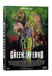 The Green Inferno - Mediabook Cover A - Limitiert auf 300 Stück - Director's Cut (+ DVD) [Blu-ray]