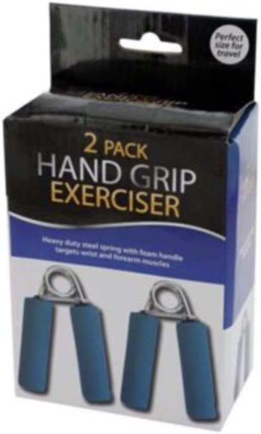Kole Imports 2-Pc New product type Hand Exerciser Ranking TOP20 Set Grip