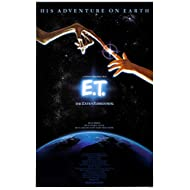 """E.T. the Extra-Terrestrial - 1982 - (24"""" X 36"""") Movie Poster"""