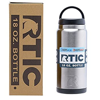 RTIC 18oz Bottle are Stainless Steel Double Wall Vacuum Insulated