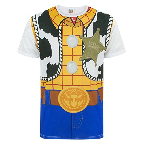 Disney Toy Story Woody Costume Men's T-Shirt (XL)