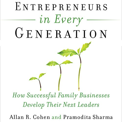 Entrepreneurs in Every Generation audiobook cover art