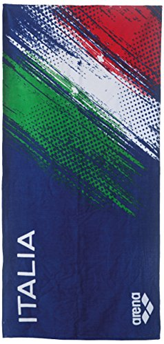 ARENA Italia Towel Toalla, Azul Marino, Talla única