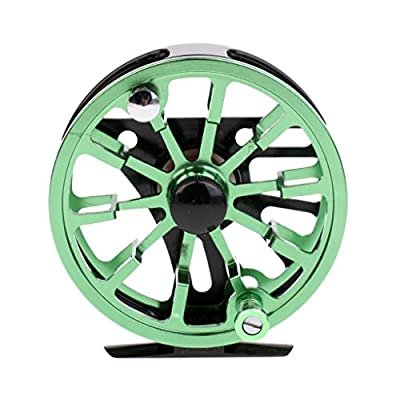 Sharplace 2+1BB Full Metal Fly Fishing Reel 7/8 WF Fly Reels Wheel Smooth Running Dia. 95mm from Sharplace
