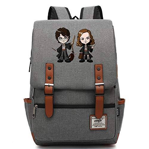 MMZ Girls School Bag Waterproof Rucksack Backpack Youth Travel Camping Hiking Leisure Backpack Medium Gray
