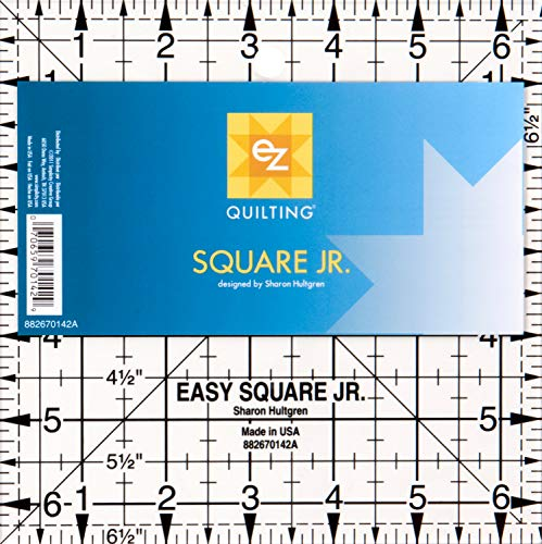 EZ Quilting - Plantilla de plástico para Tejer colchas, diseño de Cuadrado