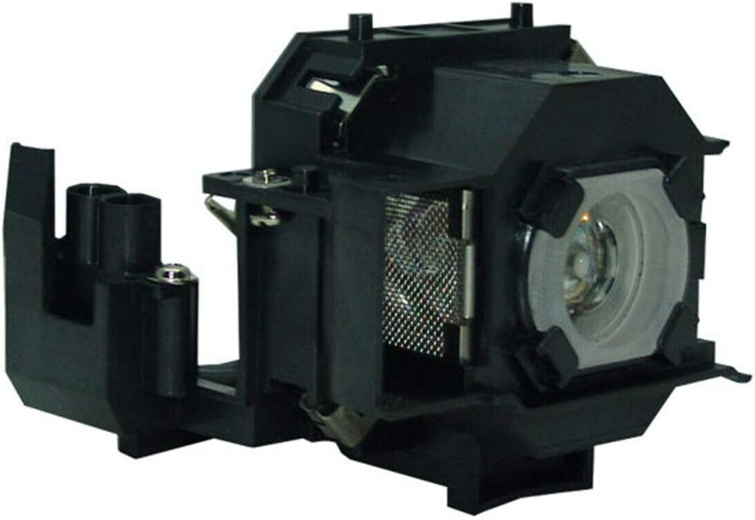 Kingoo for EPSON EMP-62 EMP 62 EMP62 ELPLP34 V13H010L34 Projector Replacement Lamp in Housing