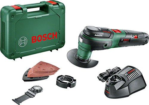 Bosch UniversalMulti 12 Cordless Multifunction Tool with 12 V Lithium-Ion Battery