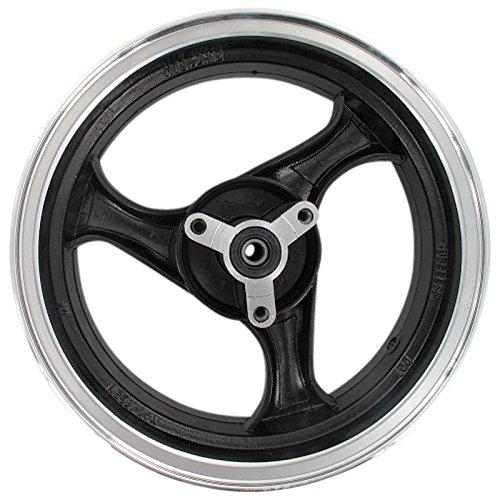 Xfight-Parts Llanta delantera de aluminio negro 86 3 radios, 3,50 x 13 pulgadas, 4 tiempos, 125 ccm, YY125T-28 Rex Milano 125
