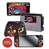 Controller Gear Officially Licensed Nintendo Switch Skin & Screen Protector Set - Super Metroid - Nintendo Switch