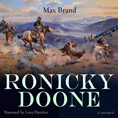 Ronicky Doone audiobook cover art