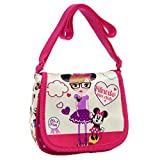 Disney Minnie Fan Bandolera con Solapa