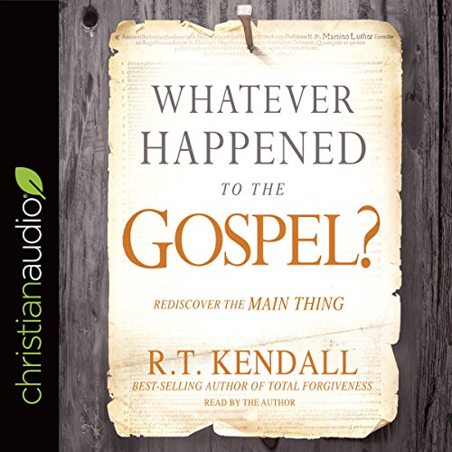 Whatever Happened to the Gospel? audiobook cover art