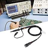 【2021 Promoción de año nuevo】Sonda pasiva de osciloscopio, 5pf-30pf 100MHz Ancho de banda Sonda pasiva práctica negra Accesorios de osciloscopio para ingeniero de instrumentos profesional