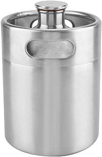 ビール樽 ビールサーバー ミニビール樽 家庭用 業務用 ビール用ツール ステンレス鋼製 安全 健康 丈夫 保存用 高品質 長持ち 使いやすい 全3つサイズを選ぶことができる(2L)