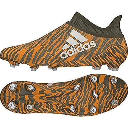 Adidas X 17+ FG, Botas de fútbol Hombre, Naranja (Narbri/Talco/Olitra 000), 43 1/3 EU
