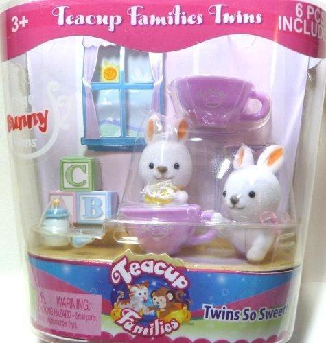 "Teacup Families Twins ""Boigo Bunny Twins"""