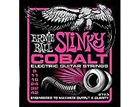 ERNIE BALL ( アーニーボール ) COBALT SLINKY Super Slinky (#2723) 新定番コバルト・ストリングス 力強いクリアなサウンド 【3セット】