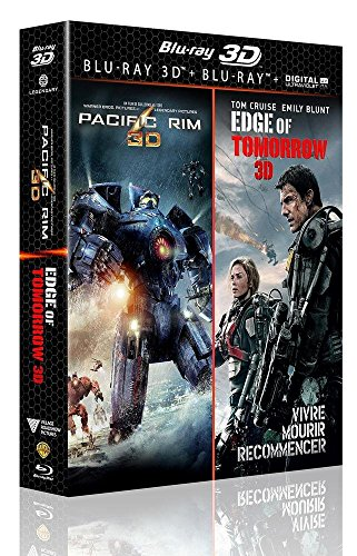 Pacific Rim 3D + Edge of Tomorrow 3D [Combo Blu-ray 3D + Blu-ray + Copie digitale]
