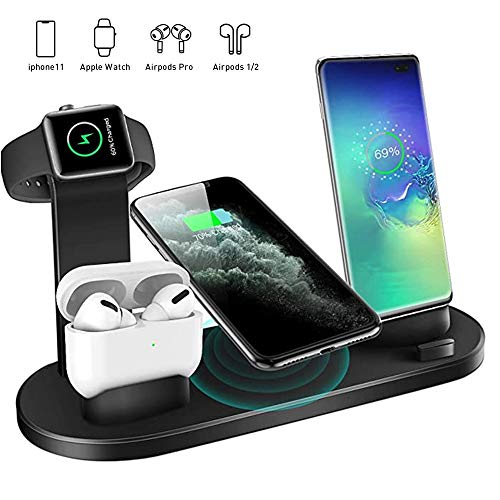 Wireless Charger 4 in 1 Charging Dock $14.40 (55% Off with code)