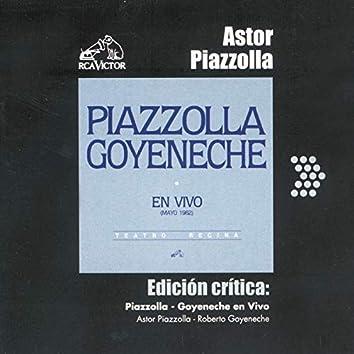 Edición Crítica: Piazzolla-Goyeneche En Vivo