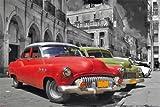 empireposter Cuba Havana - Classic Car Oldtimer Stadt