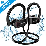Mpow D8 Running Headphones Bluetooth, IPX7 [Up to 9 Hrs] PlayTime, Waterproof
