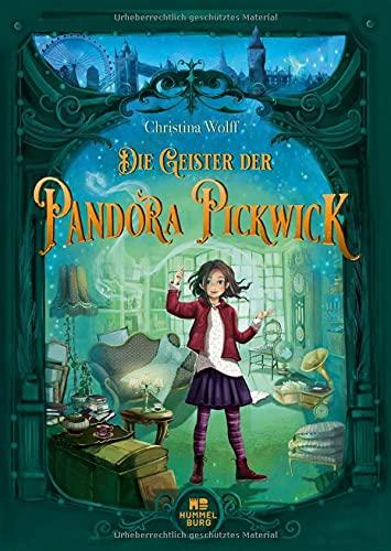 Buchseite und Rezensionen zu 'Die Geister der Pandora Pickwick' von Christina Wolff