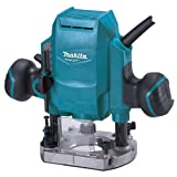 Makita Router Plunge Type (8 mm, Teal Blue)