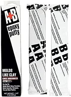 A+B Epoxy 9904K White A+B Rezolin Epoxy Kit, 14 oz. Container Size, Box Container Type