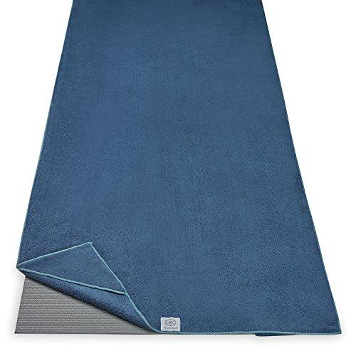 gaiam–Toalla de Yoga (esquineras, 05-62918, Lake