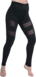 Yoga Pants, Women's Power Flex Yoga Pants Tummy Control Workout Yoga Capris Pants Leggings