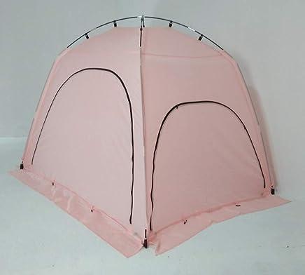 Adan 室内隐私帐篷,温暖舒适*内部抽绳室内隔热室内隔热门(粉红色,200.74 厘米 x 149.86 厘米 x 144.78 厘米)