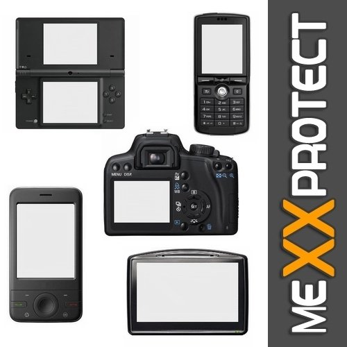 100/% accurately Fitting Very Simple Assembly Residue-Free Removal 6 Protective Films Mexxprotect 6X Ultra-Clear Screen Protector for Canon Legria HF G26