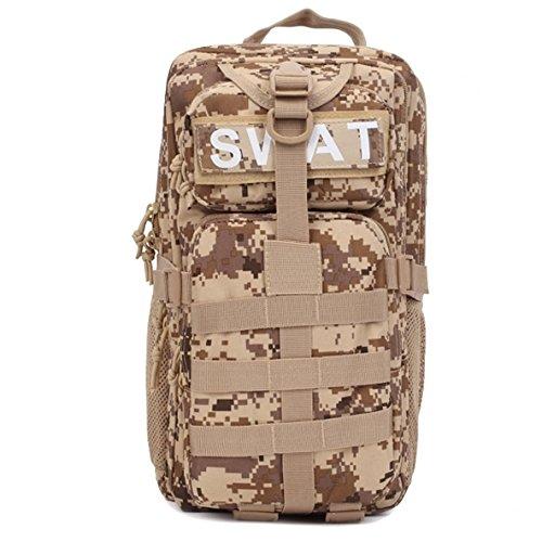 WARM huis Handige Camping Fietstas Outdoor Gear Militaire Tactische Molle 3P Assault Rugzak Mountaineerin Reizen Canvas Swat Combat Vakantie