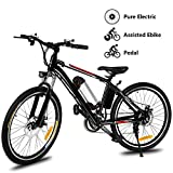 Hicient Electric Bike Electric Bicycle for Adult 26'' Electric Mountain Bike...