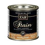 Zar 12706 1/2 Pint Golden Oak Zar Oil Based Wood Stain