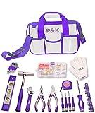 Set 141Outils Violet idées cadeau sac à outils Boîte à outils (Noël)