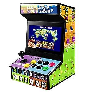 DOYO Arcade Spiele Maschine für zu Hause Arcade Street Fighter Classic Gaming Arcade-Schrank Unterstützung NES, SNES, GBA, SEGA, PS, DC, MAME, 68 Spiele in 1 zusätzliche Spiele hinzufügen