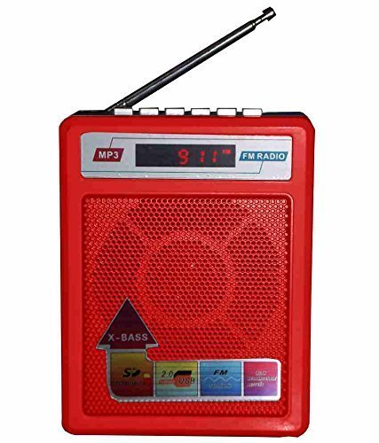 Sonilex Rechargeable Portable FM Radio