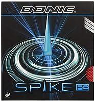 DONIC(ドニック) 卓球 スパイク P2 (塩野真人選手との共同開発商品)粒高ラバー レッド OX AL074