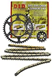D.I.D MXS-009OEM 520VX2 Gold Chain and 15 Teeth/44 Teeth Sprocket Kit
